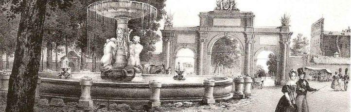 La Puerta de Atocha es derribada