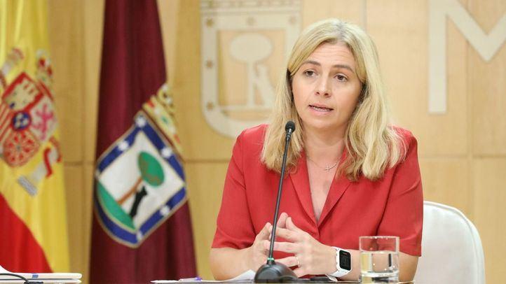 Inmaculada Sanz, portavoz del Ayuntamiento de Madrid y delegada del Área de Salud, Seguridad y Emergencias.