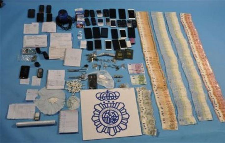 Desarticulada una red de venta de cocaína en Móstoles