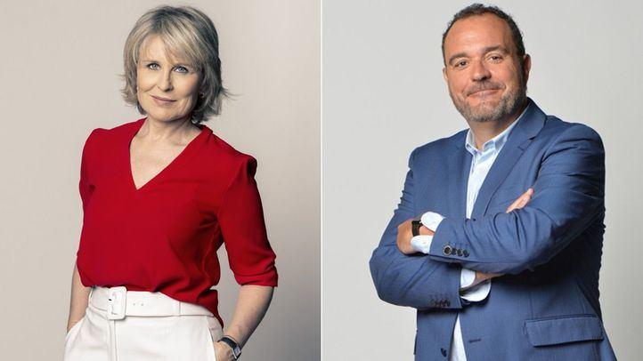 Los periodistas María Rey y Juan Pablo Colmenarejo, Antenas de Plata