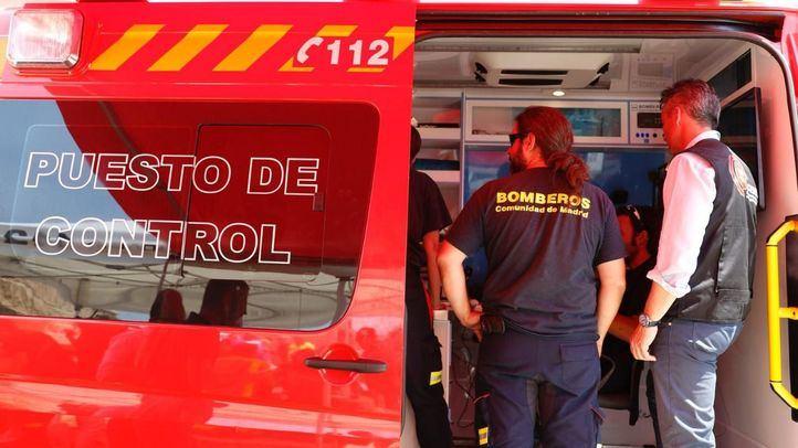 200 efectivos entre la Comunidad y la UME trabajan para sofocar el incendio
