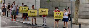 Los piquetes informativos protagonizan el primer día de moratoria en Madrid Central