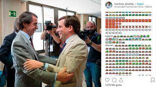 La moratoria de Madrid Central 'atasca' el Instagram de Almeida