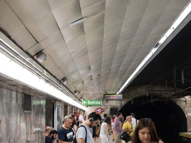 Ola de calor... en el Metro: hasta 125 incidencias del aire acondicionado en tres días