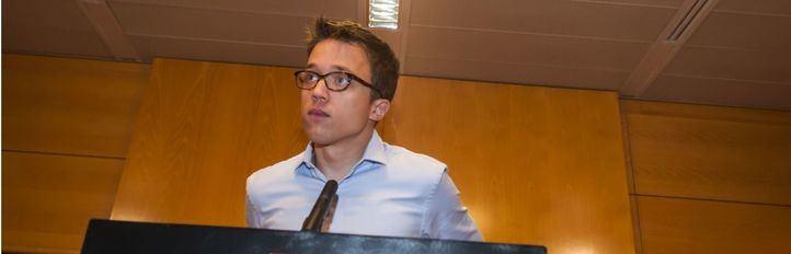 Errejón pide el apoyo de tres diputados de Cs para la investidura de Gabilondo