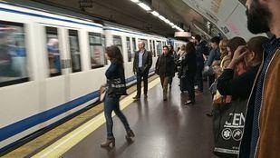 Foto de archivo de una estación de Metro de Madrid.