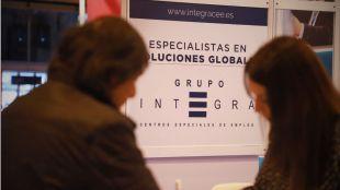 Taller 'Impresiona a las empresas', impartido por Rebeca García, del Grupo Integra CEE.
