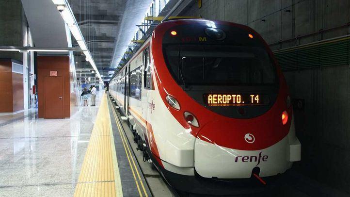 Tren de Renfe Cercanías.