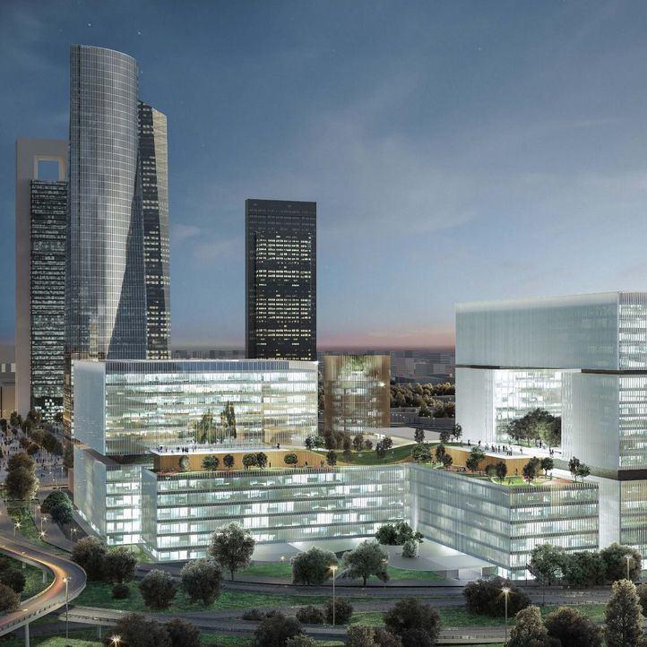 Un hospital 'del futuro' con una torre de 33 plantas, clave para remodelar La Paz