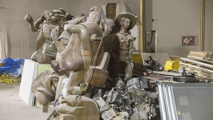 Avanza la recuperación del teatro Albéniz