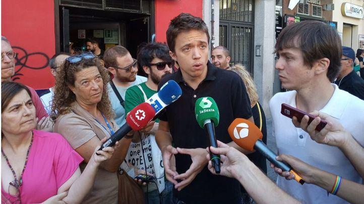 Errejón celebra el fin de la moratoria de Madrid Central y la celebración del Orgullo lejos de la Casa de Campo