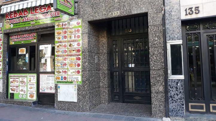 Portal de Paseo de las Delicias, 133.