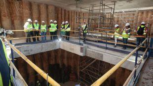 La estación de Tribunal tendrá siete ascensores en 2020