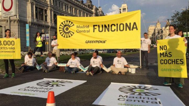 Almeida insiste en construir un Madrid Central