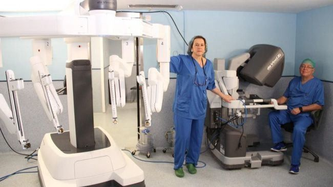 El robot Da Vinci en el Hospital Clínico San Carlos