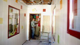 Obras de mejora en el colegio Los Jarales.
