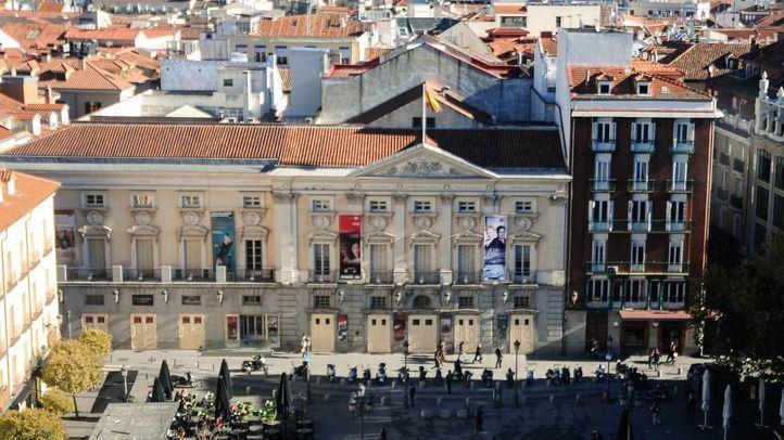 Fachada del Teatro Español, anteriormente Teatro del Príncipe.
