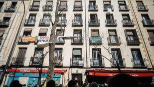El número 11 de la calle Argumosa, lugar en el que se ha producido el desalojo.