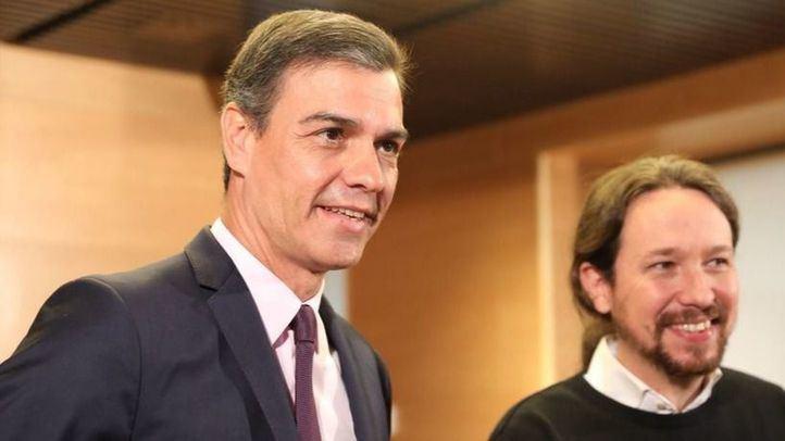 Los españoles prefieren un Gobierno de coalición entre PSOE y Podemos