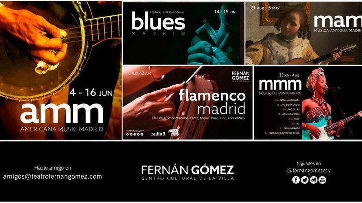 Los festivales de música del Fernán Gómez reunieron a casi 30.000 personas