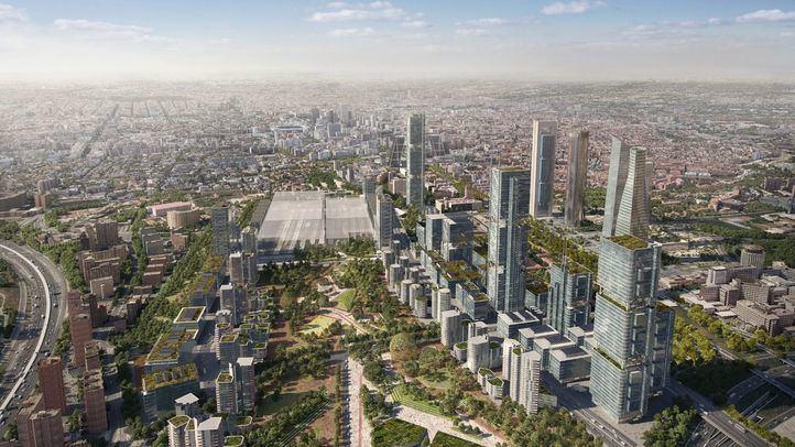 Recreaciones virtuales del proyecto Madrid Nuevo Norte.