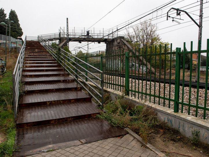 Luz verde para la reparación de la pasarela del Paseo de la Concepción de Pozuelo