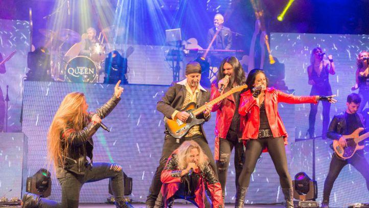 Vuelven los grandes temas musicales de Freddie Mercury y Queen en un espectáculo-concierto .