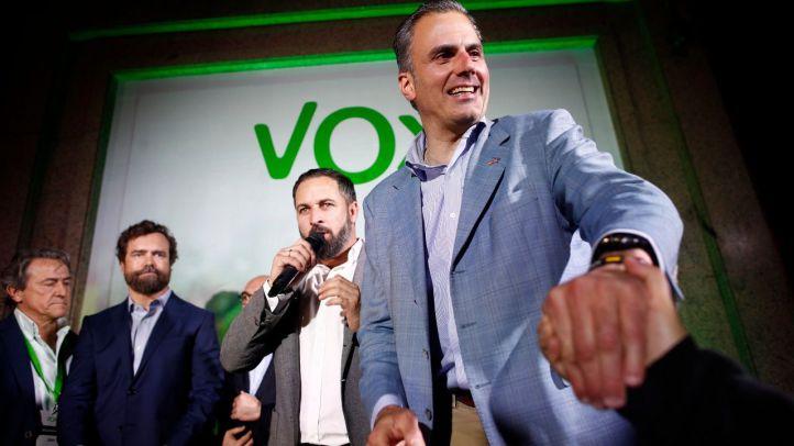Javier Ortega Smith, portavoz de Vox en el Ayuntamiento de Madrid.