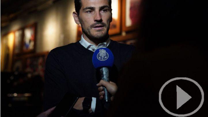 Adiós temporal de Iker Casillas al fútbol