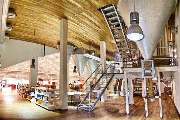 Biblioteca Regional de la Comunidad de Madrid.