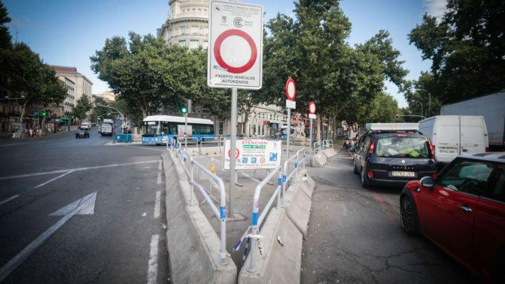 Siguen las multas en Madrid Central