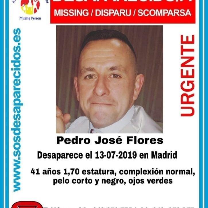 Desaparecido en Madrid