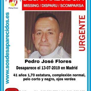 Desaparecido en Madrid un hombre de 41 años