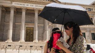 Se esperan temperaturas cercanas a los 40 grados este domingo en toda la Comunidad de Madrid.