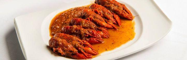 Los mejores cangrejos de río, en La Cocina de María Luisa