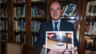 Celso Rodríguez presenta la Memoria Anual del TSJM.