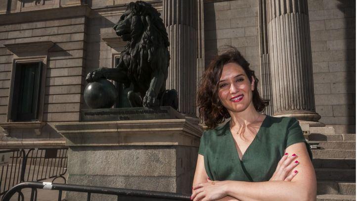 La candidata popular a la Presidencia de la Comunidad de Madrid, Isabel Díaz Ayuso, espera que sus socios desbloqueen su investidura esta semana.
