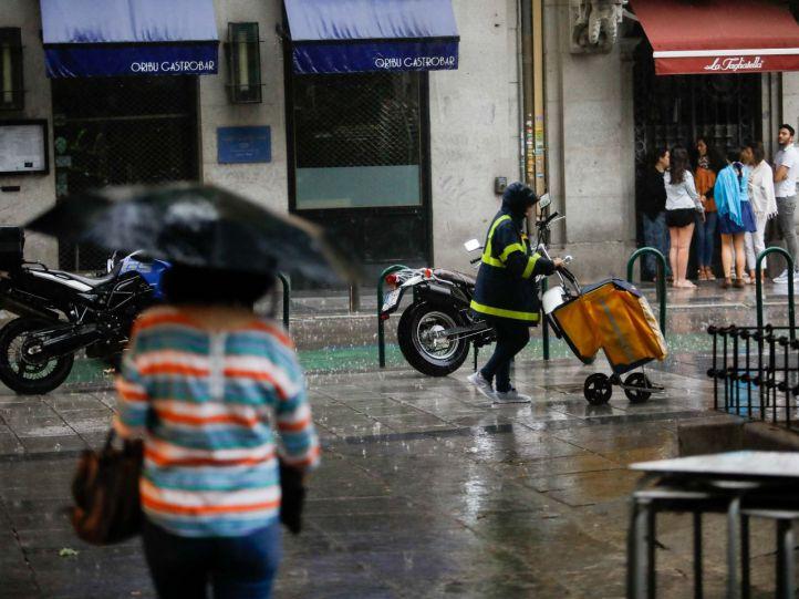 Emergencia en Madrid: alerta por vientos y tormentas