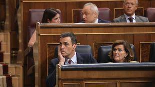 La abstención de Unidas Podemos lleva a Pedro Sánchez a segunda votación