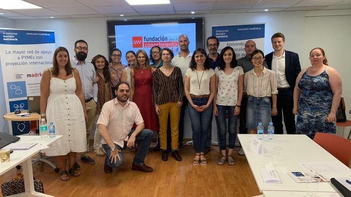Finaliza la primera etapa del programa formativo 2019 en Programas Europeos y Transferencia de Tecnología de la Fundación madri+d