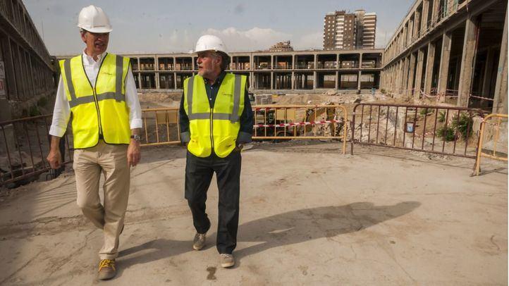 Las obras en el Mercado de Legazpi inspiran al PSOE un proyecto más amplio en la zona