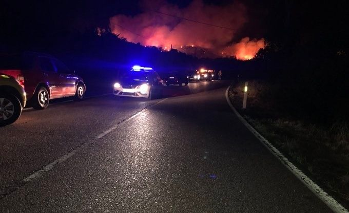 Estabilizado el incendio de El Berrueco