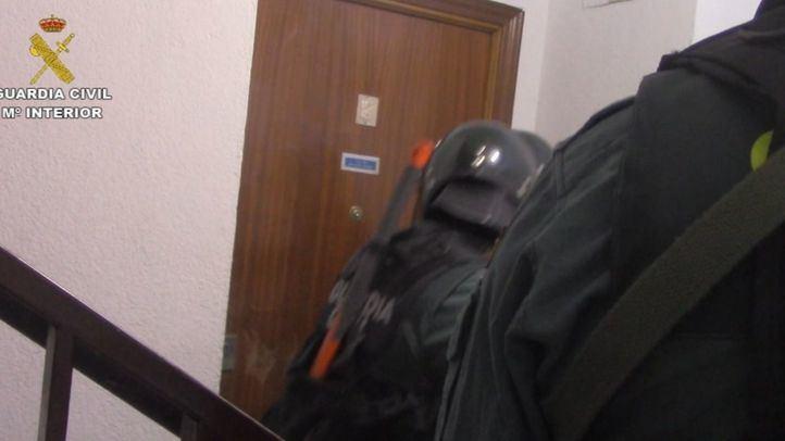 Tres detenidos por robar a punta de pistola un banco de Villarejo de Salvanés