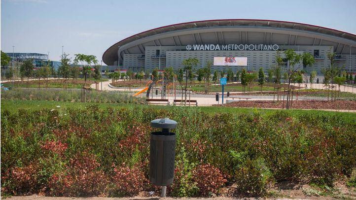 Los jardines del Wanda se abrirán en los próximos días