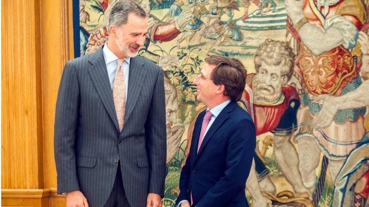 Almeida traslada a Felipe VI los