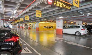 Instalaciones de Centauro en el aeropuerto de Alicante.