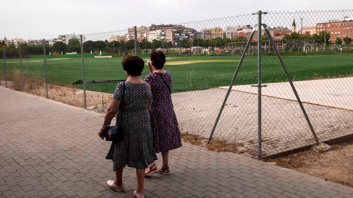 Así espera el antiguo campo de golf de Canal su reconversión en parque público