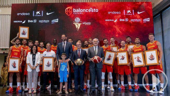 La 'Roja' de Basket ya entrena para el Mundial de China