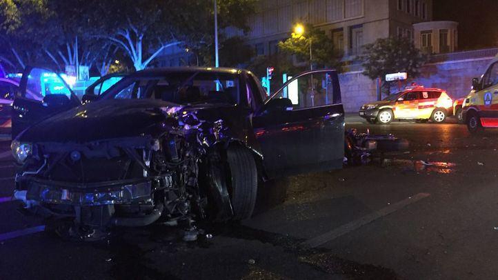 Un choque entre una moto y un turismo se salda con un fallecido