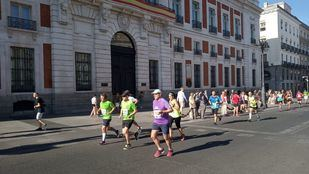 El Trofeo San Lorenzo se ha celebrado este domingo como previo a las fiestas en Lavapiés.